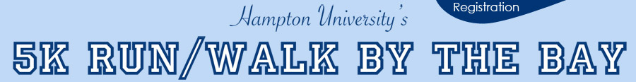 HU 5K Run-Walk by the Bay Registration - April 5, 9am - Holland Hall