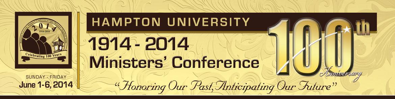 Hampton University Ministers' Conference 2013 Registration